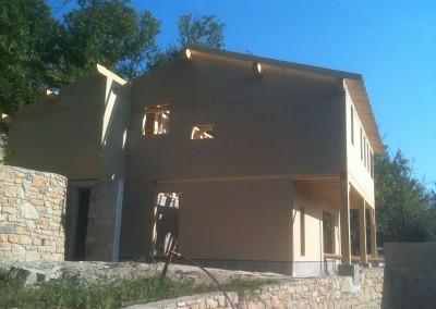structure ossature bois Gard