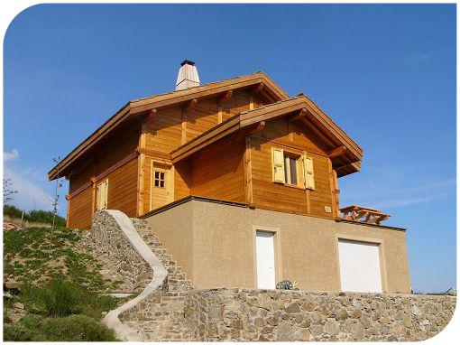 Rdn constructions bois constructeur de maisons ossature bois for Constructeur maison ossature bois 05