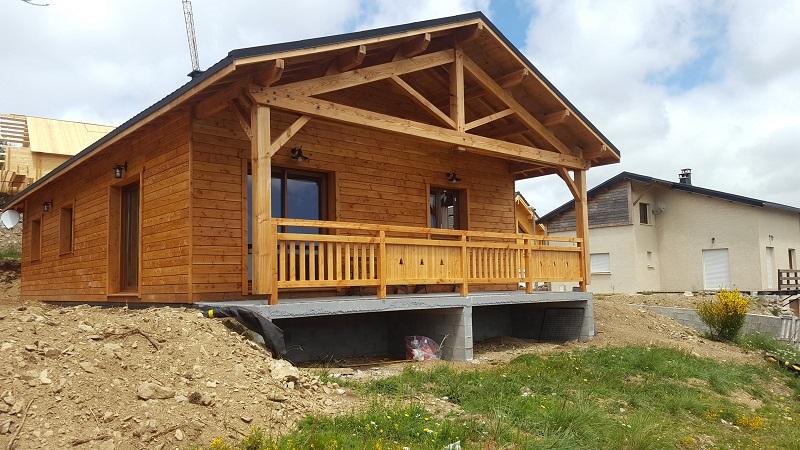 Maison Ossature Bois Gard - RDN CONSTRUCTIONS BOIS constructeur de maisons ossature bois