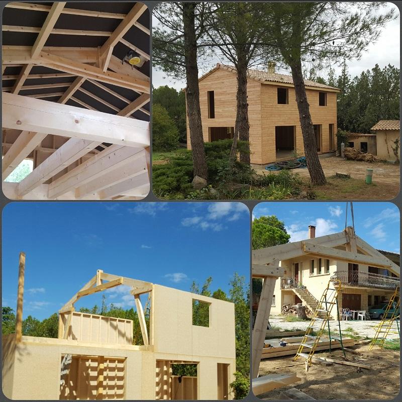 RDN CONSTRUCTIONS BOIS constructeur de maisons ossature bois # Maison En Bois Gard