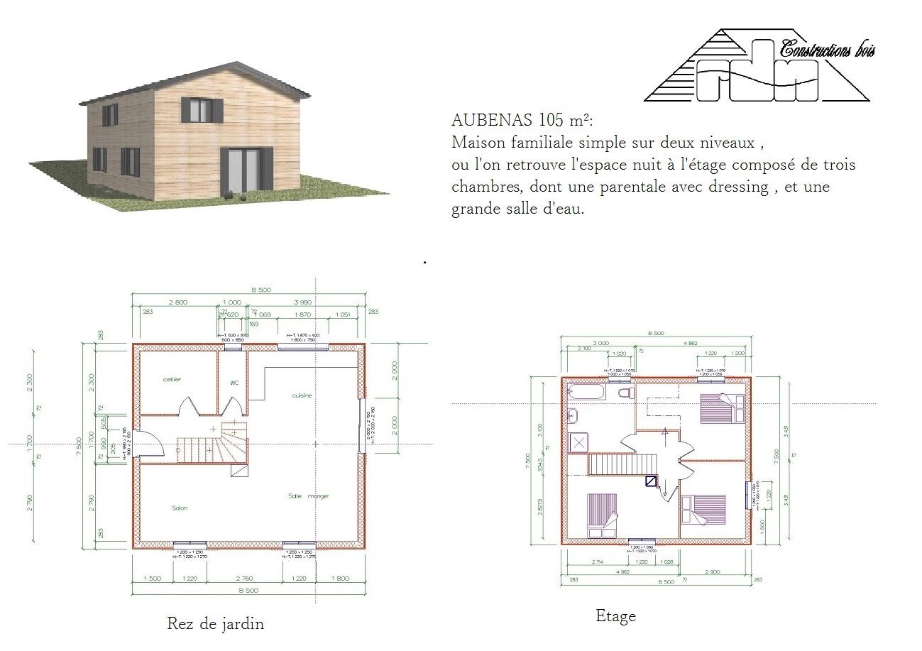 Aubenas 105m²